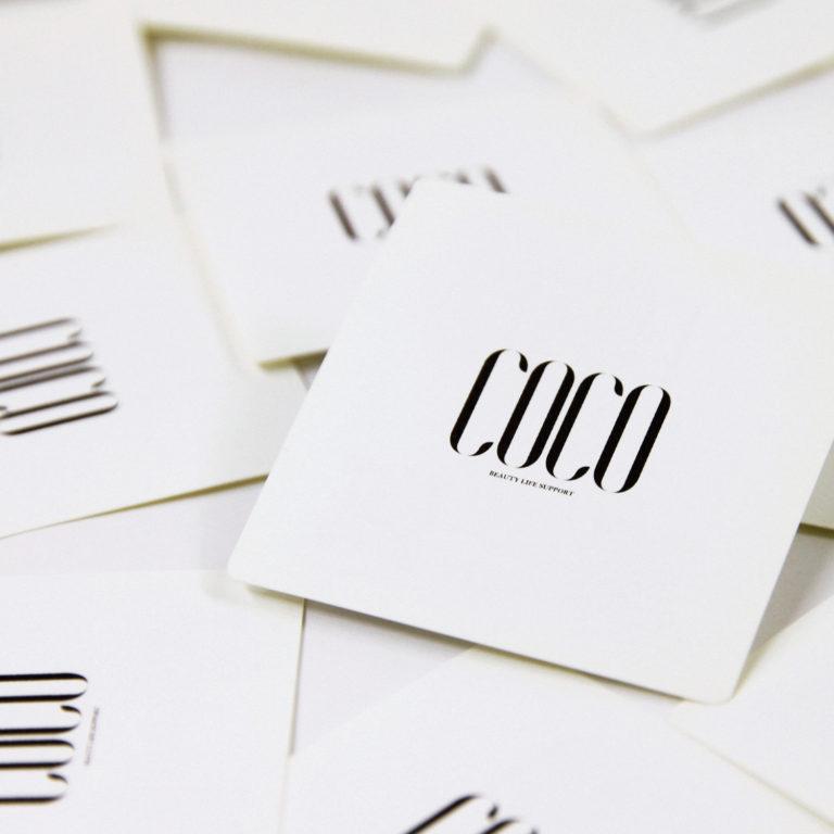 HAIR SALON / SHOP CARD