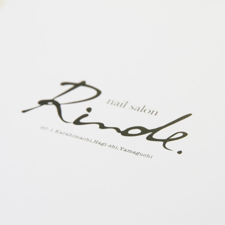 NAIL SALON / LOGO TYPE